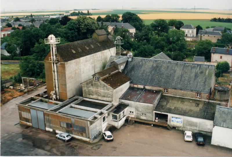 Silos d\'Orgères-en-Beauce (Eure-et-Loir)